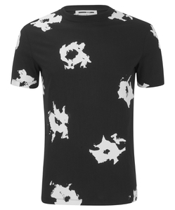 McQ Alexander McQueen Men's Abstract Crew T-Shirt - Abstract Floral
