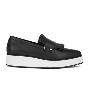 McQ Alexander McQueen Women's Manor Pleated Slip-On Trainers - Black