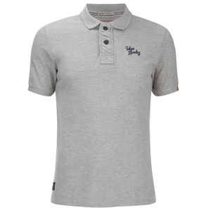 Tokyo Laundry Men's Rochester Polo Shirt - Light Grey