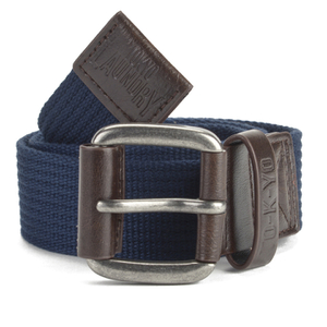 Tokyo Laundry Men's Fredo Canvas Belt - Midnight