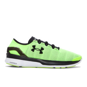 Under Armour Men's SpeedForm Turbulence Running Shoes - Green/Black
