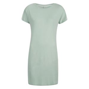 ONLY Women's Lidia T-Shirt Dress- Gray Mist