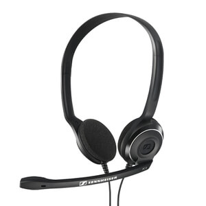 Sennheiser PC 8 USB Lighweight On-Ear Gaming Headset with Mic - Black