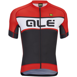 Alé Formula 1.0 Sprinter Short Sleeve Jersey - Black/Red