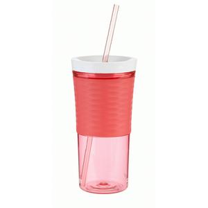 Contigo Shake & Go Tumbler with Straw (530ml) - Watermelon