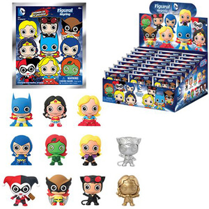 Women of the DC Universe 3-D Figural Foam Key Chain