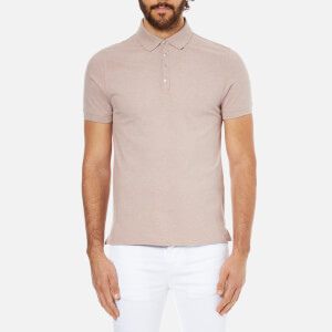 Selected Homme Men's Dawson Polo Shirt - Fawn
