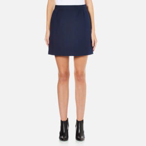 A.P.C. Women's Spy Mini Skirt - Navy