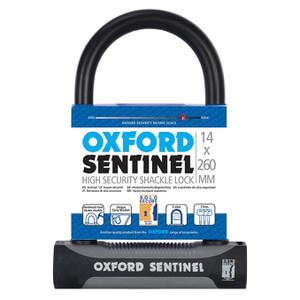 Oxford Sentinel Plus U-Lock - 260mm