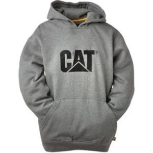 Caterpillar Men's Trademark Sweater Hoody - Grey