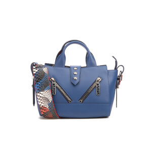 KENZO Women's Kalifornia Mini Tote Bag - Blue