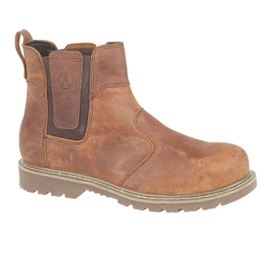 Amblers Safety Men's FS165 Chelsea Boots - Brown