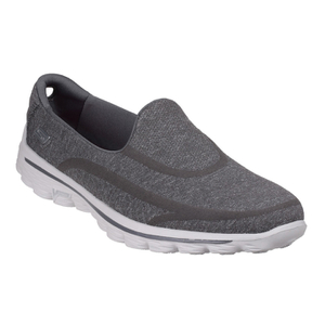 Skechers Women's GOwalk 2 Super Sock Pumps - Grey