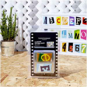 A4 Cinematic Lightbox Letters Pack - Ransom