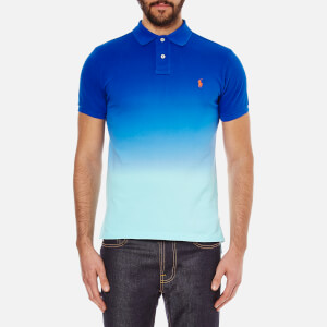 Polo Ralph Lauren Men's Dip Dyed Polo Shirt - Bright Imperial Blue