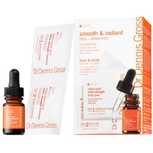 Dr Dennis Gross Smooth and Radiant Kit with Brightening Solution
