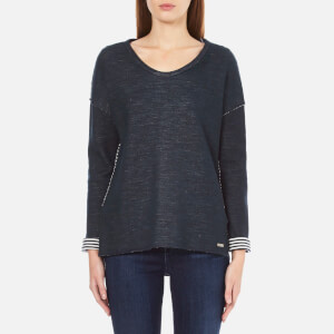 BOSS Orange Women's Tareverse Sweatshirt - Dark Blue