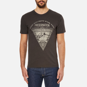 OBEY Clothing Men's Society Of Destruction T-Shirt - Graphite