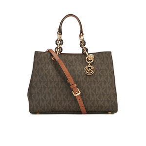 MICHAEL MICHAEL KORS Cynthia Medium Satchel - Brown