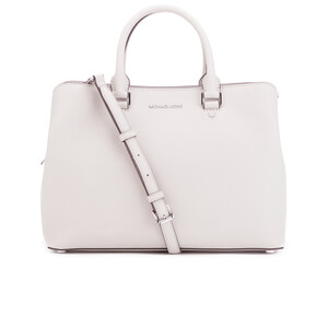 MICHAEL MICHAEL KORS Savannah Satchel - Cream