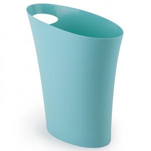 Umbra Skinny Waste Can - Surf Blue
