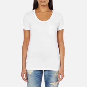 Superdry Women's Essentials Drapey Pocket T-Shirt - Optic