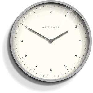Newgate Mr. Turner Wall Clock - Overcoat Grey