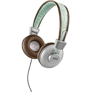 The House of Marley Positive Vibration Headphones - Aqua