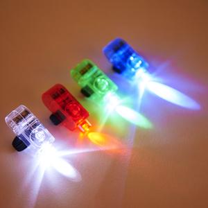 Multicoloured Strap on LED Finger Lights