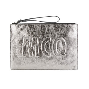 McQ Alexander McQueen Women's Clutch Bag - Light Gunmetal