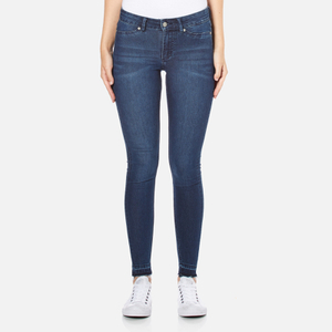 Cheap Monday Women's Mid Spray Fall Jeans - Blue