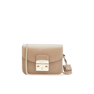 Furla Women's Metropolis Mini Crossbody Bag - Taupe