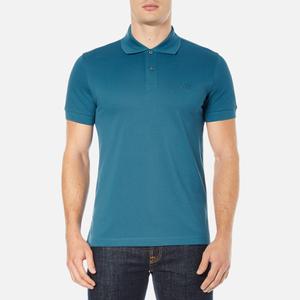 BOSS Green Men's C-Firenze Small Logo Polo Shirt - Blue