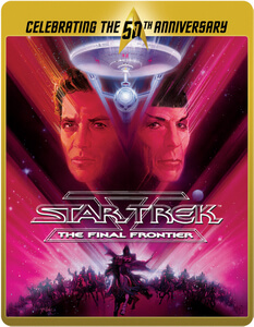 Star Trek 5 - Am Rande des Universums - Limited Edition 50. Jubiläums Steelbook