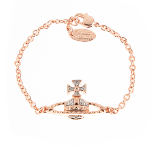 Vivienne Westwood Jewellery Women's Mayfair Bas Relief Bracelet - Crystal