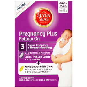 Seven Seas Pregnancy Plus Vitamins - 28 Tablets