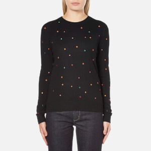 PS by Paul Smith Women's Multi Spot Jumper - Black