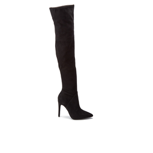 Kendall + Kylie Women's Ayla 2 Suede Thigh High Boots - Black