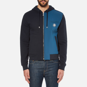 Versus Versace Men's Contrast Colour Hoody - Deep Navy