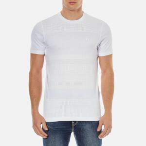 Luke 1977 Men's Bob Fox Spot Print T-Shirt - White Grey