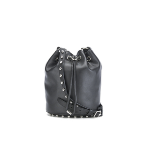 Alexander Wang Women's Alpha Soft Bucket Bag with Studs - Black