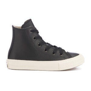 Converse Kids' Chuck Taylor All Star II Hi-Top Trainers - Black/Parchment/Almost Black