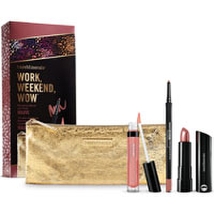 bareMinerals Work Weekend Wow Marvelous Moxie Lip Trio - Mauve