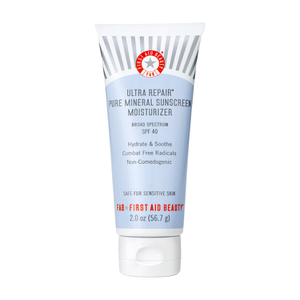 First Aid Beauty Ultra Repair Pure Mineral Sunscreen Moisturizer SPF 40