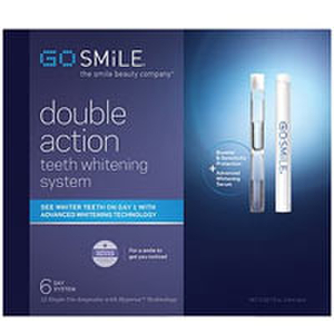 GoSMILE Double Action Whitening System - 6 Days