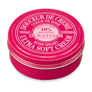 L'Occitane Shea Butter Ultra Soft Cream - Rose Heart