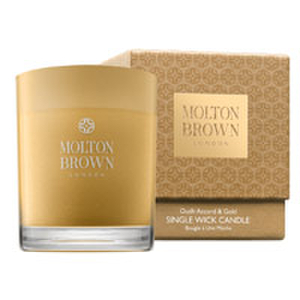 Molton Brown Oudh Accord and Gold Single Wick Candle