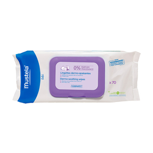 Mustela Dermo-Soothing Wipes Fragrance Free