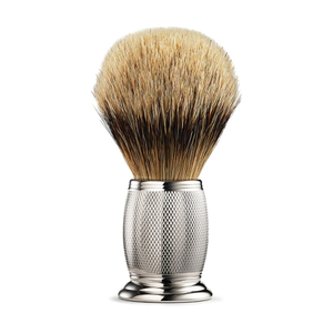 The Art of Shaving Etched Silvertip Brush