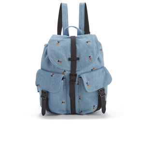 Herschel Supply Co. Women's Dawson Disney Backpack - Denim/Black Poly